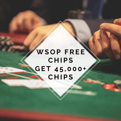 Wsop Free Chips Links